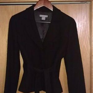 Ann Taylor black skirt suit size 2